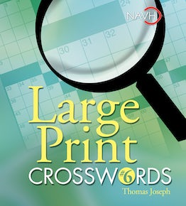 Large Print Crosswords #6
