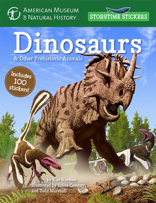 Storytime Stickers: Dinosaurs