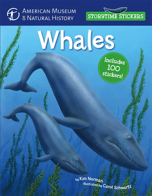 Storytime Stickers: Whales