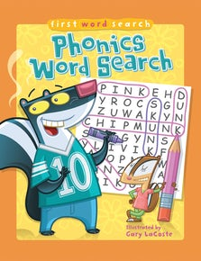 First Word Search: Phonics Word Search