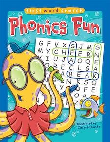 First Word Search: Phonics Fun