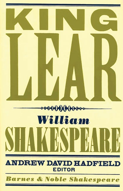 King Lear (Barnes & Noble Shakespeare)