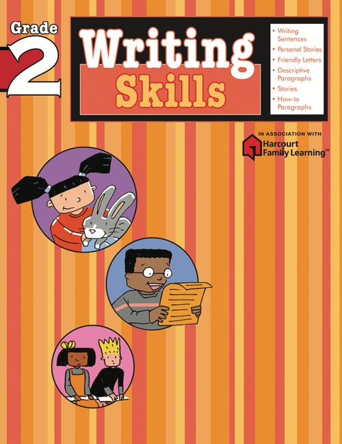 Writing Skills: Grade 2 (Flash Kids Harcourt Family Learning)