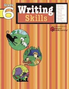 Writing Skills: Grade 6 (Flash Kids Harcourt Family Learning)