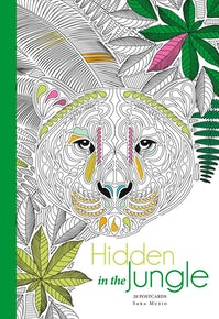 Hidden in the Jungle: 20 Postcards