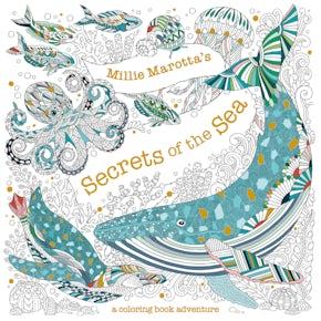 Millie Marotta's Secrets of the Sea