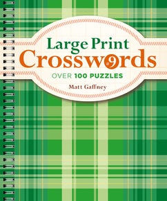 Large Print Crosswords #9