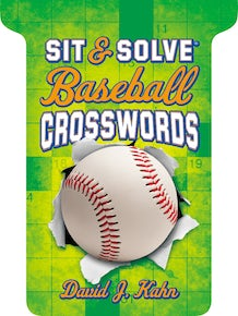Sit & Solve® Baseball Crosswords