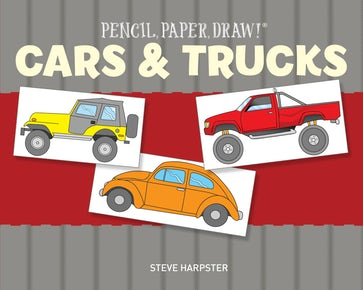 Pencil, Paper, Draw!®: Cars & Trucks