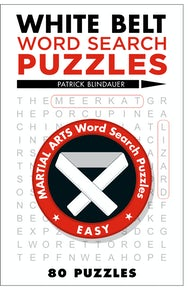 White Belt Word Search Puzzles