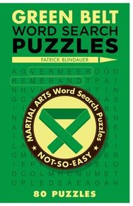 Green Belt Word Search Puzzles