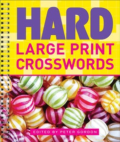 Hard Large Print Crosswords