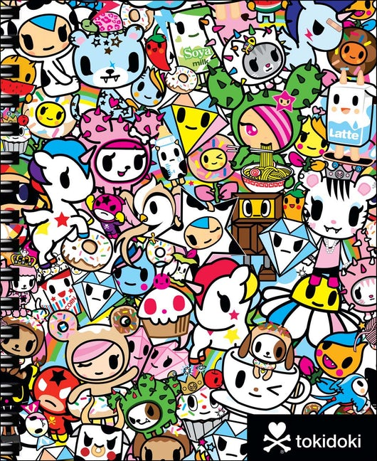 tokidoki Sketchbook with Spiral