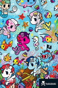 tokidoki Mermicorno Flexi Journal