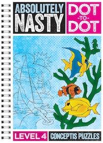 Absolutely Nasty® Dot-to-Dot Level 4