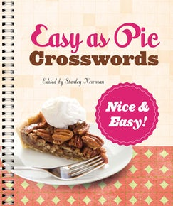 Easy as Pie Crosswords: Nice & Easy!