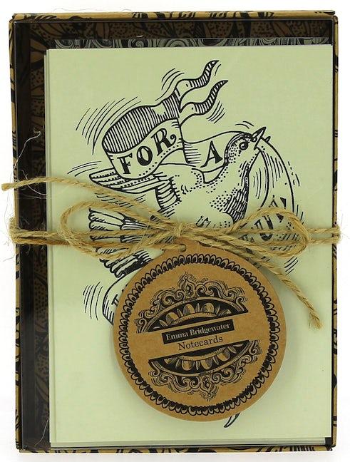 Emma Bridgewater Black Scroll Notecards