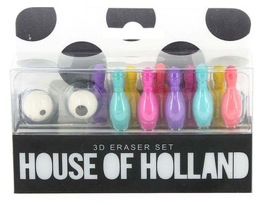 House of Holland 3D Eraser Set