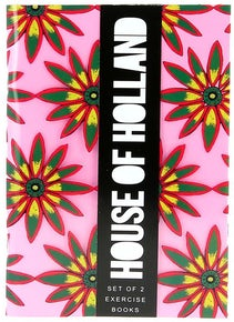 House of Holland Set of 2 Notebooks