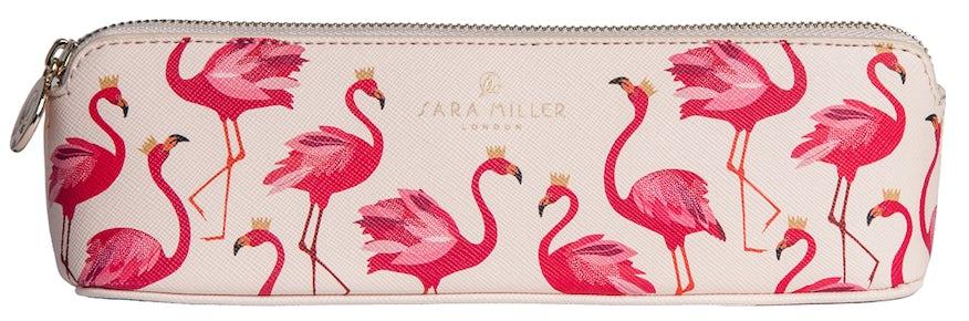 Sara Miller Pencil Case (Flamingo)