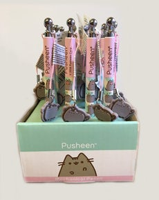 Pusheen® Pencil & Dangler 24-Piece Tray