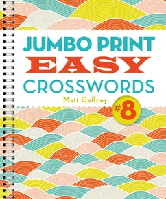 Jumbo Print Easy Crosswords #8