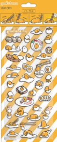 Gudetama Puffy Stickers