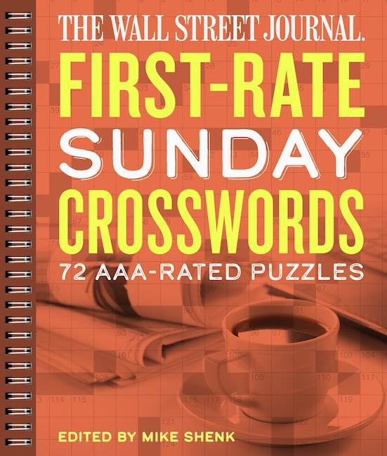 The Wall Street Journal First-Rate Sunday Crosswords