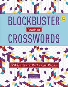 Blockbuster Book of Crosswords 2