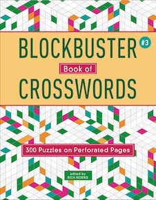 Blockbuster Book of Crosswords 3