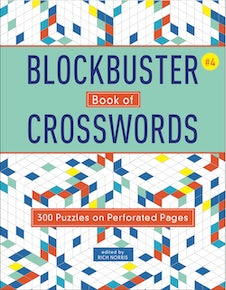 Blockbuster Book of Crosswords 4