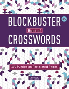 Blockbuster Book of Crosswords 5