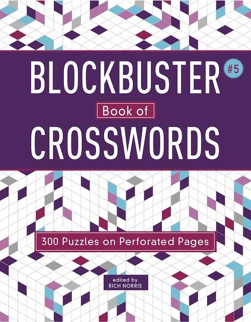 Blockbuster Book of Crosswords 5