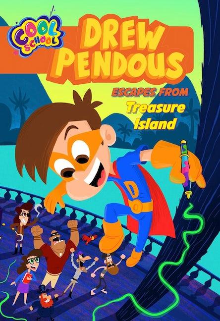 Drew Pendous Escapes from Treasure Island (Drew Pendous #4)