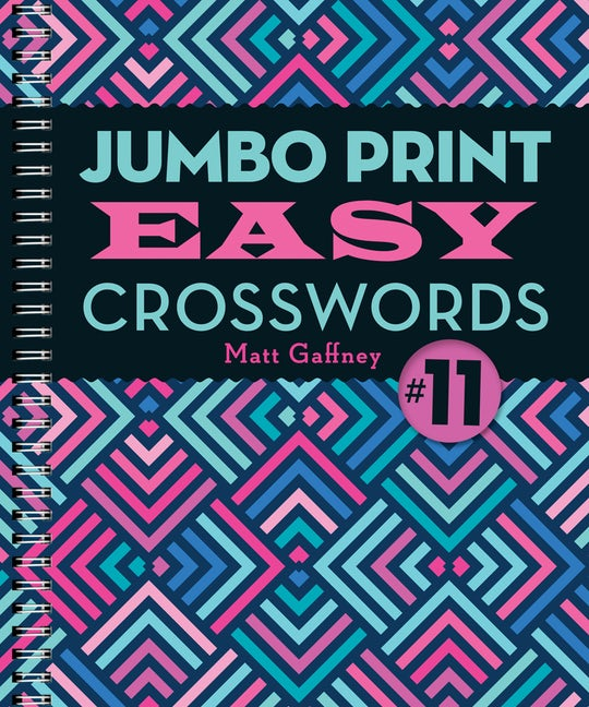Jumbo Print Easy Crosswords #11