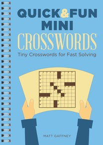 Quick & Fun Mini Crosswords