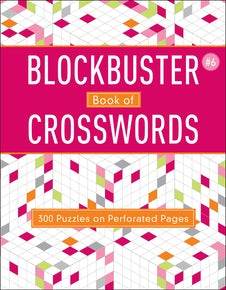 Blockbuster Book of Crosswords 6