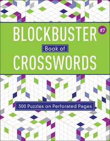 Blockbuster Book of Crosswords 7