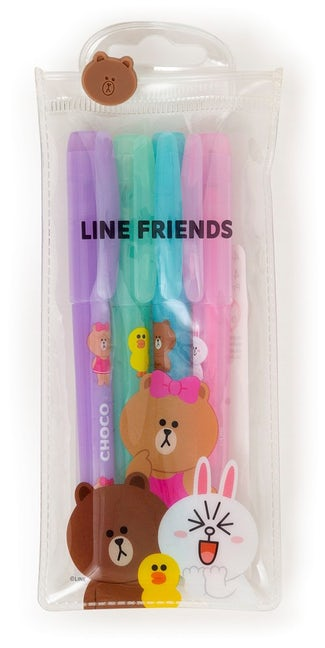 Line Friends Gel Pens