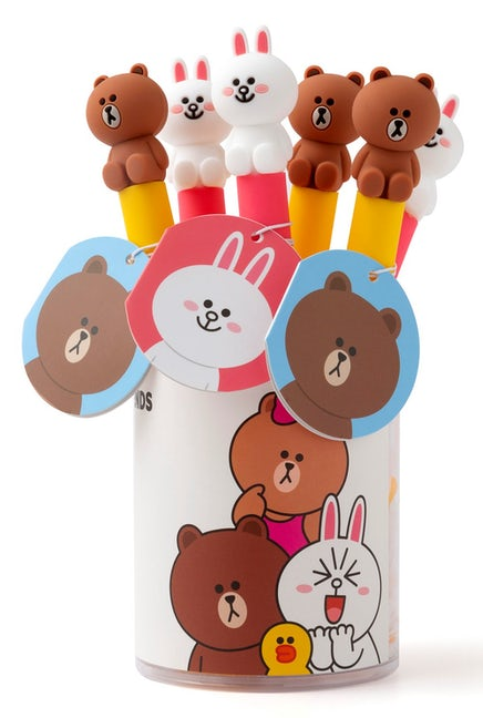 Line Friends Ballpen 6 Pack