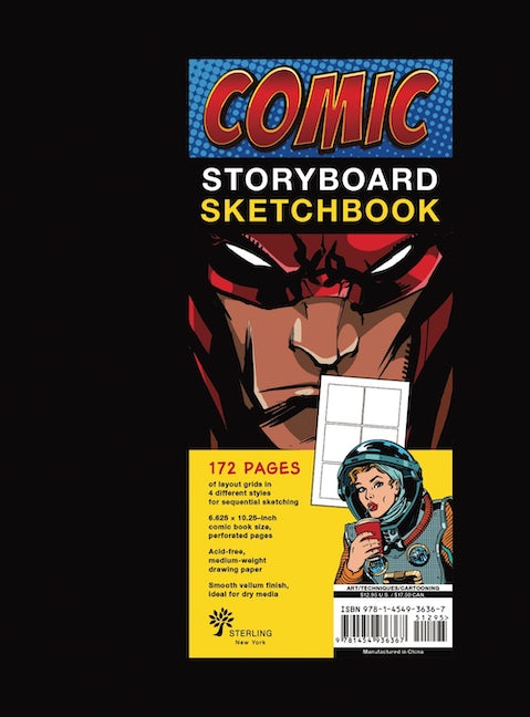 Comic Storyboard Sketchbook