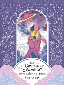 Cosmic Slumber Tarot Coloring Book