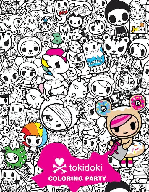 tokidoki Coloring Party