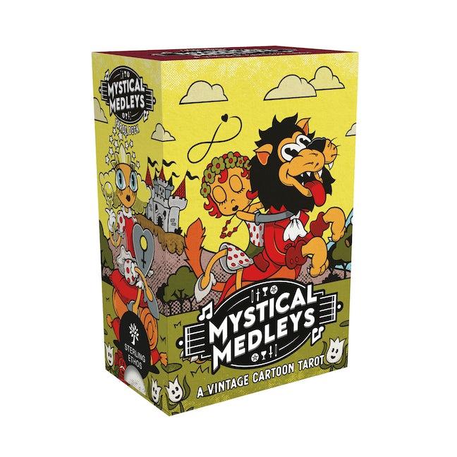 Mystical Medleys: A Vintage Cartoon Tarot