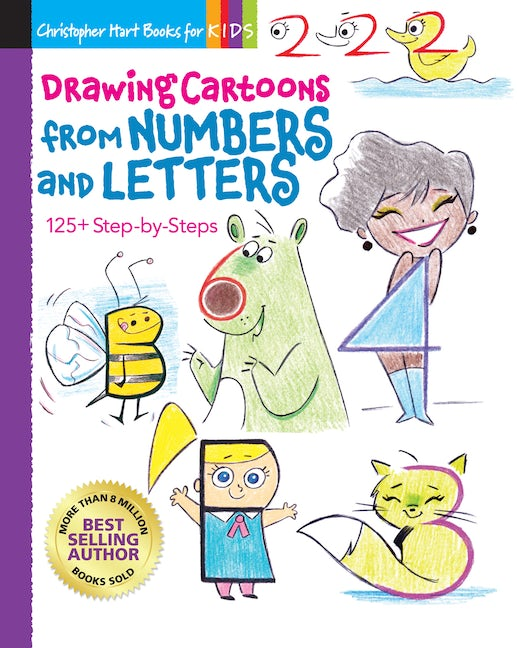 Drawing Cartoons from Numbers and Letters