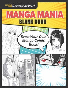 Manga Mania Blank Book