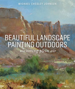 Beautiful Landscape Painting Outdoors