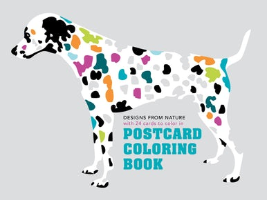 Postcard Coloring Book