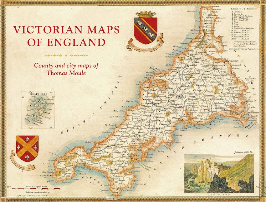 Victorian Maps of England