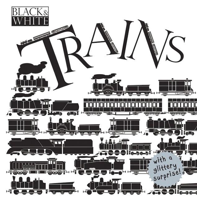 Black & White: Trains